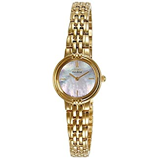 Citizen Analog Mother of Pearl Dial Women's Watch – EX1092-57D