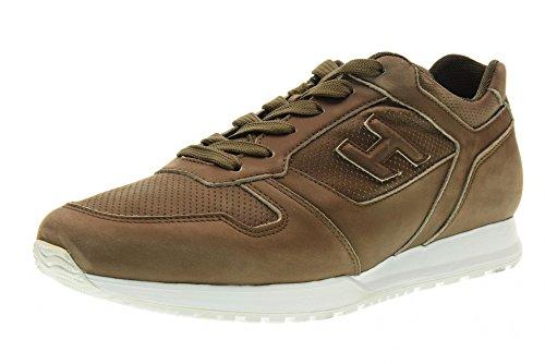 HOGAN chaussures hommes baskets basses HXM3210Y120LNDC422 H321 brown