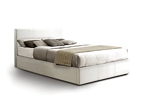 bed and mattress sets ottoman storage bed upholstered in faux leather