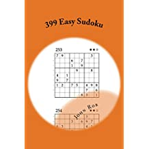399 Easy Sudoku (English Edition)