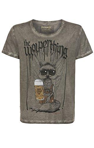 Stockerpoint Trachten T-Shirt Wolperbua Stein, S - 7