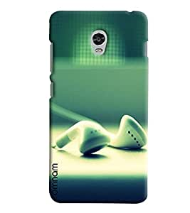 Omnam Playing Cards Juggling Printed Designer Back Cover Case For Lenovo Vibe P1