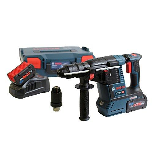 Bosch 061191000D Akku-Bohrhammer ProCORE GBH 18V-26 SDS plus 2x7,0 Ah-L-Boxx, 1 W, 18 V