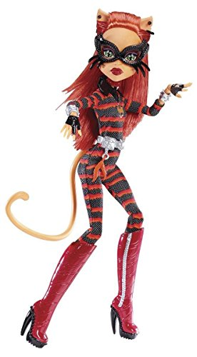Mattel Y7298/Y7301-11A - Neue Monster High Toralei Power Ghouls Cat (Monster Cat Doll High)