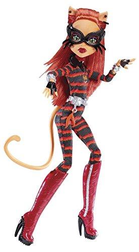 Mattel Y7298/Y7301-11A - Neue Monster High Toralei Power Ghouls Cat catastrophe