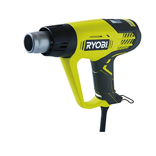 Ryobi EHG2020LCD 500L/min 2000W Black, Yellow Power HEAT GUN–Power HEAT Guns (500L/min, 2000W, 50–650°C, 250l/min, black, yellow, LCD)