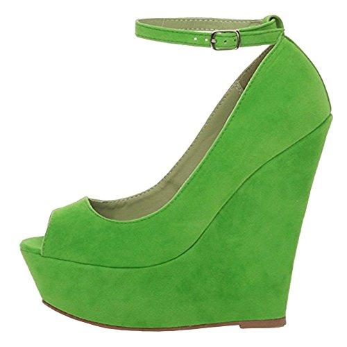EKS Escarpins Vert femme Escarpins EKS pour femme Escarpins EKS femme Vert pour pour Vert EKS rarCwPq6Zx