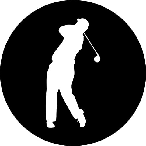 Golf golfing golfer Round Mousepad Mouse Pad Great Gift Idea
