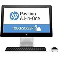 HP Pavilion 23-q110na (N8X85EA#ABU) 23-inch All-in-One PC AMD A10-8700P 1.8GHz / 3.2GHz Turbo Processor, 8GB RAM, 1TB HDD, 1920 x 1080 Screen Resolution, DVDRW Super Multi, HDMI, USB 3.0, Bluetooth 4.0, Card Reader, Windows 10