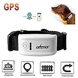 Hangang Localizador de GPS Collar anti-pérdida de localizador / perseguidor, control remoto anti-perdida para mascotas, niños, billetera, teléfono celular, animales, posición de alarma TK909