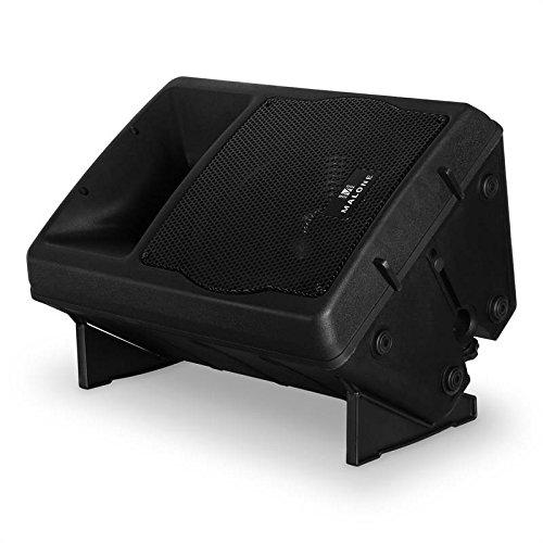 Malone PW-EV-12A Aktiv-PA-Lautsprecher (30cm 2-Wege-Subwoofer, Tragegriff, 2 Mikrofon-Eingänge, 2-Band EQ, ABS-Gehäuse, Leistung 550W RMS)–schwarz