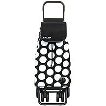 Rolser PAC052 - Carro Rolser Pack Sol Logic Tour Blanco/Negro color Blanco/Negro