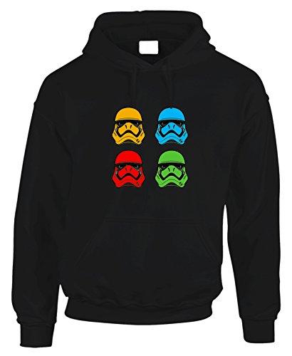 Felpa con cappuccio Stormtrooper Pop Star Wars - in cotone by Fashwork