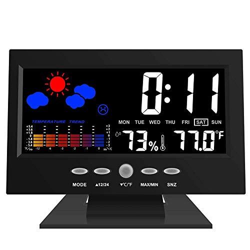 FISHTEC ® Estación meteorológica - Termómetro