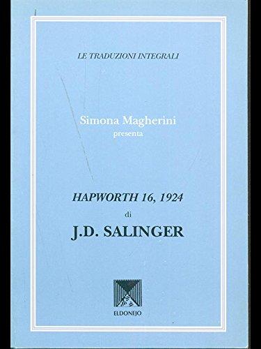 Hapworth 16, 1924 di J.D. Salinger