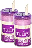 #9: Tulips Premium Wooden Toothpicks Pack of 2