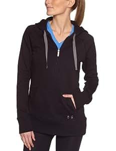 Under Armour Storm Cotton Slub Sweatshirt à capuche femme Black/Graphite XS
