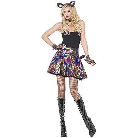 Da donna Sexy 60045,6 cm s Disco Pussy Cat per feste tutù gallina Do Costume di Halloween Outfit UK 6-18