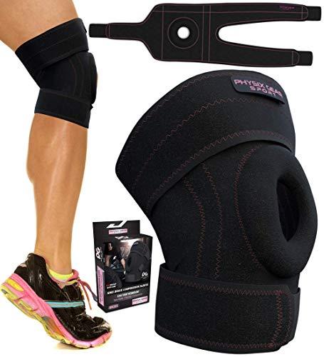 7324fb8f28 Physix Gear Knee Brace for Men and Women - Best Open-Patella Brace for  Arthritis