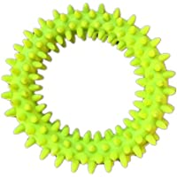 piccoli giocattoli del cane spina cerchio durevole duro da masticare pulizia dei denti gonfiabili animali domestici non tossico giocattoli 5pcs