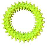 kleiner Dorn Kreis Hundespielzeug dauerhaft hart kauen Zahnreinigung federnd ungiftig PET-Spielzeug 5pcs