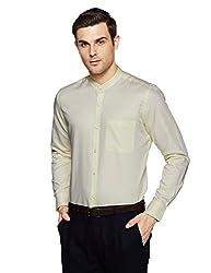 Raymond Mens Formal Shirt (8907576795380_RISZ00242-F1_40_Light Fawn)