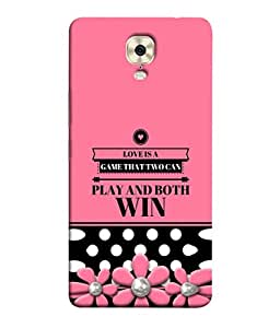 Fuson Designer Back Case Cover for Gionee M6 Plus (Both Can Win Girls Office Couple Valentine)