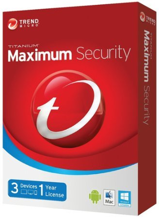 TREND MICRO Maximum Security 2015 - 3 User 1 Jahr