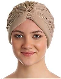 W-Stil Pilssiert Turban für Frauen Haarausfall, Krebs, Chemo