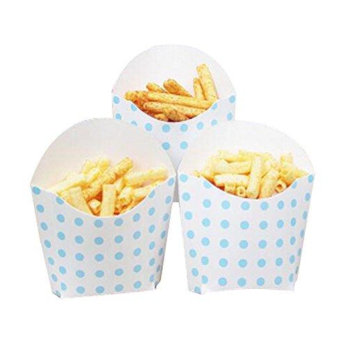 Black Temptation 12 PCS Geburtstagsfeier Supplies Popcorn Cups Food Boxes für Pommes/Zucker - A16