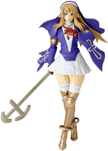 Queen's Blade Revoltech Extra Series 014EX Sigui 1P Color Ver. Action Figure - 1p Series