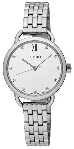 Seiko Femmes Analogique Quartz Montre avec Bracelet en Acier Inoxydable SUR697P1