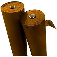 Reißfestes braunes Unkrautvlies mit hoher UV-Stabilisierung 10m x 1,6m = 16m², Grammatur: 50g/m²