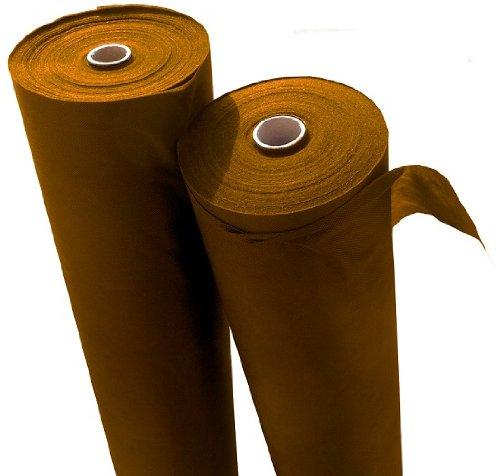 Reißfestes braunes Unkrautvlies mit hoher UV-Stabilisierung 60 x 1,6m = 96m², Grammatur: 50g/m²