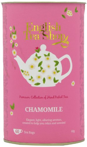 English Tea Shop – Kamille, BIO, 60 Teebeutel in Dose