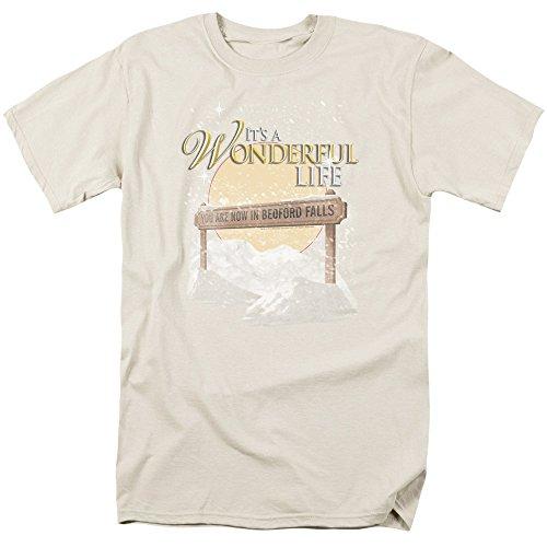 2Bhip Wonderful Life 1946 Christmas Fantasy Film Bedford Falls Adult T-Shirt