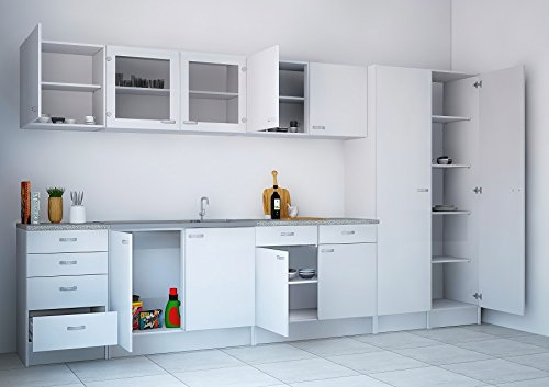 KIT CUCINA MOBILE 1A.1 CASSET.45520 49 BIANCO