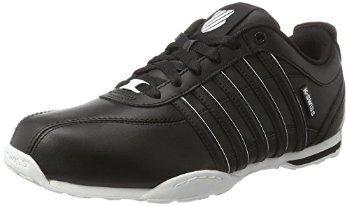 K-Swiss ARVEE 1.5, Sneakers Basses homme Noir (Black/white)
