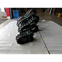 Cadena de goma 190 x 72 x 47 cm.