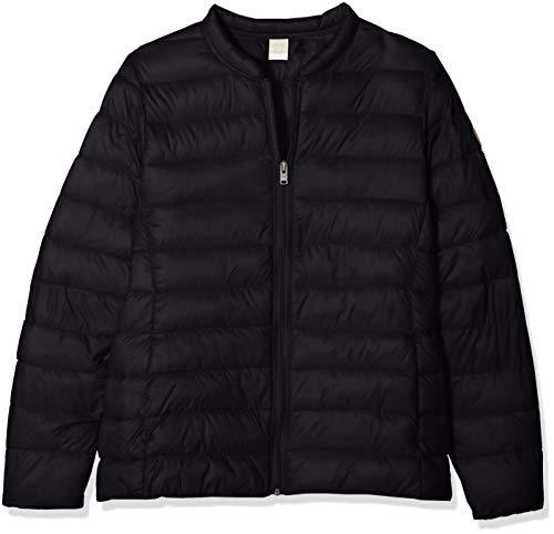 Veste isolante à encolure ras du cou pour femme avec pochette de transport. Idéal pour les voyages, il est fabriqué à partir de nylon ultra léger et ultra-léger et est entièrement doublé d'un effet de duvet chaud.