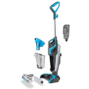 BISSELL CrossWave | 3-in-1 Multi-Surface Floor Cleaner | Vacuums, Washes & Dries | Cleans Hard Floors & Area Rugs | 1713