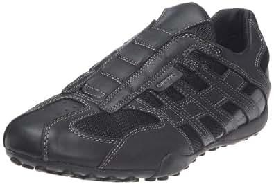 Geox U SNAKE ART.N U1107N04311C9204, Herren Sneaker, Schwarz (BLACK/LEAD C9204), EU 40