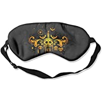 Eye Mask Eyeshade Day of The Dead Sleeping Mask Blindfold Eyepatch Adjustable Head Strap preisvergleich bei billige-tabletten.eu