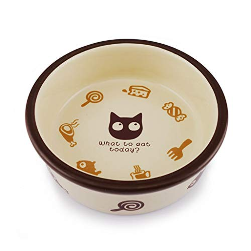Hundenapf-Futtertrog, Hundenapf-Schale, Keramik-Hundenapf CQOZ