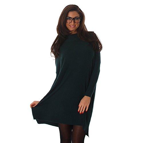 Voyelles -  Maglione  - Oversize - Donna Blu marino