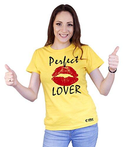 Colour Fashion shirt - Donna Yellow