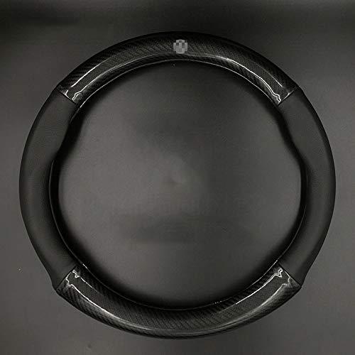 Car steering wheel cover Carbon Lenkrad Abdeckung Rutschfeste Spezielle Auto Lenkradabdeckung Vier Jahreszeiten Universal,2