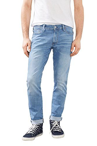 edc by ESPRIT Herren Jeans 997CC2B802 , Blau (Blue Light Wash 903), W33 (Herstellergröße: 33/34) (Jeans Wash Fit-light)