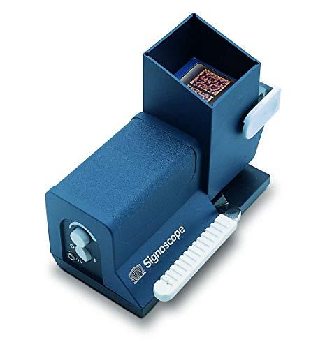 Safe - SIGNOSCOPE - T1 Optisch-elektrische Wasserzeichenfinder / Prüfgerät 9886 mit Netz-Trafo 9887