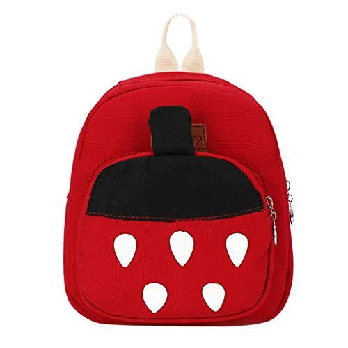 Dorical Mädchentaschen Kinder Cartoon Rucksack Umhängetasche Kindertasche für Mädchen, Schultertasche Baby Bag Kinder Rucksack Leichte Strap Schultasche für Baby Boy Ausverkauf(F)